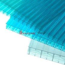 Triple layer polycarbonate sheet