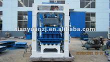 2012 NEW QTY4-15 interlocking paving bricks machine/machine concrete brick hydraulic(Tianyuan)