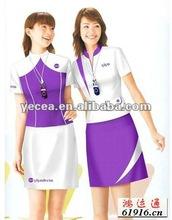 Venta al por mayor elegante inxpensive promocional uniforme ( oem )