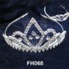 Artificial bridal jewellery fashion bijoux crown