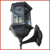 Solar led wall light, led solar light