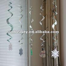 New Christmas Plastic Foil Decoration