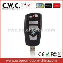 Car key usb 2.0, promotional USB Flash Drive 256mb