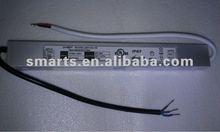 UL CE approved 12v 24v 36v 60W LED strip driver