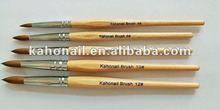 kaho art nail factory chain supermaket store,multiple shop welcome Nail Brush PUPA Eco Friendly Bamboo Single Brush