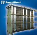Multi - sección intercambiador de calor de placas / intercambiador de calor de acero inoxidable