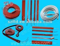 Customize 110v 115v 120v 220v 230v 240v 380v 400v silicone rubber hot band with CE RoHS certification