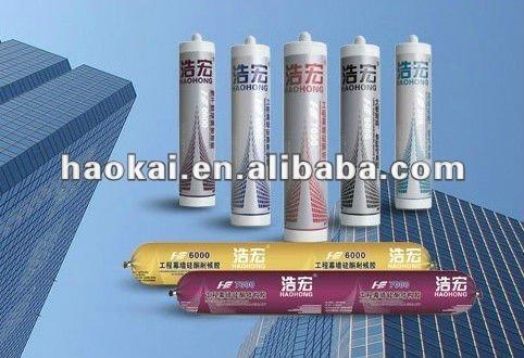 transparent silicone sealant, Invisible sealant