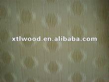 2.5mm standard decorative patterned hardboard