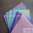 spunlace nonwoven patterned cotton fabric