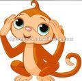 temporanea adesivo scimmia divertente tatuaggi per bambini