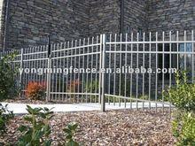 Tourist area decorative palisade fence/steel art(supplier)
