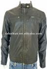 2012 Fashionable Jacket PU Leather Jacket lamb jacket for men