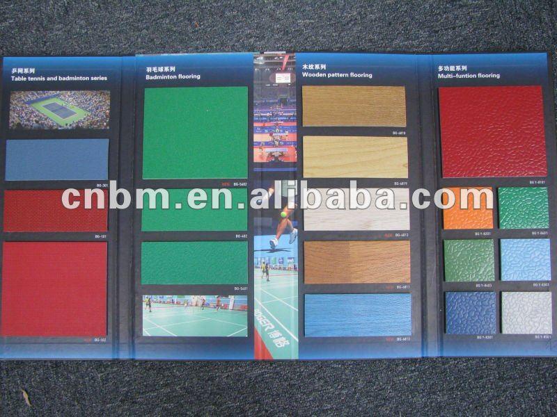 Vinyl / PVC flooring Roll-Sport