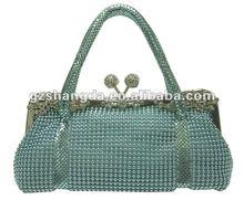 2012 new style metal mesh handbags, evening bags