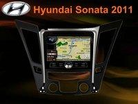 All-in-one In-dash car DVD GPS player for hyundai 2011 sonata