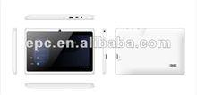 "7"" cheap Allwinner A13 tablet Six color optional"