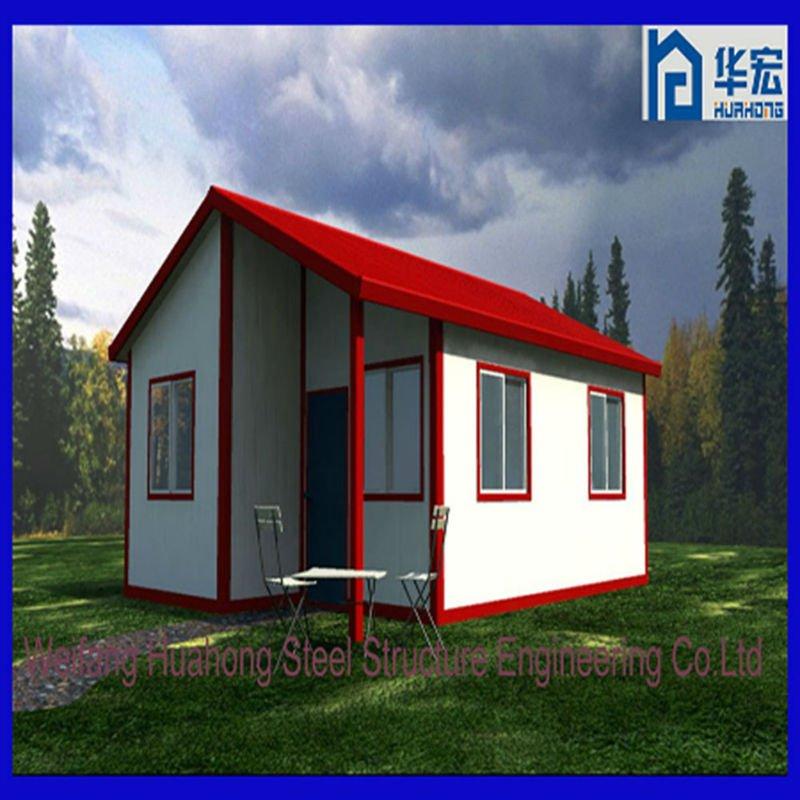 Casas un 90% más baratas y eficientes de EPS Modern_pre_made_ready_made_house_in