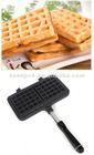 Die cast alumium waffle maker cake pan in square shape