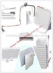 roll bond evaporator/heating systems home