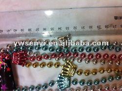 Crown Shape Mardi Gras Beads For 2013 - Buy Mardi Gras Plastic Mot