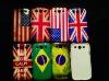 Different flag phone case for mobile phone plastic case for Samsung i9300
