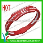 custom silicone power sports band
