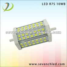High luminance 10W R7S LED white