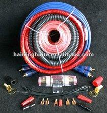 professional car amplifer 0GA 4GA 8GA 10GA wiring kit
