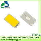2012 HOT SALE 40-45LM high brightess warm white 5630 SMD LED chip