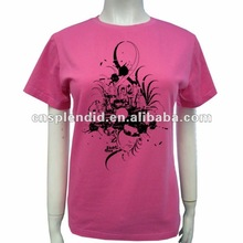 Cambodia newest puff printing t-shirt fashion new 2012