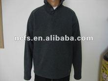 2012 fashion stylish college flat rib wholesale crewneck mens sweatshirts winter baseball mens jackets with button for man