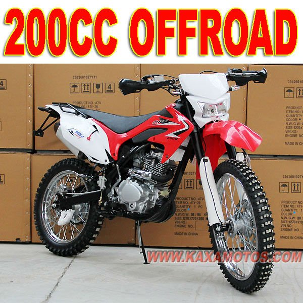 Off Road 200cc Dirt Bike