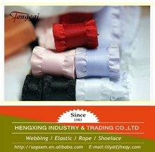 Single color special edge 3 inch ribbon