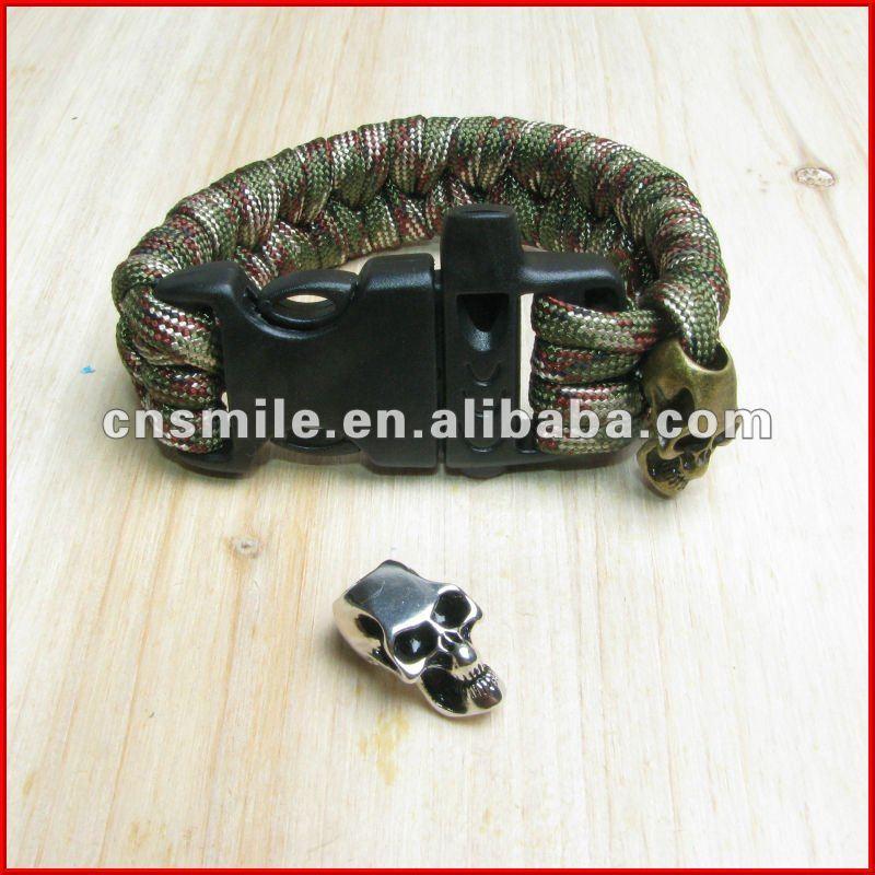 Skull Charm Bracelet Survival