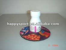 Hot selling 2012 round sublimation neoprene cup coaster