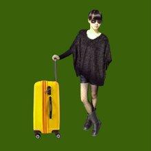 Stock trolley luggage trolley bag
