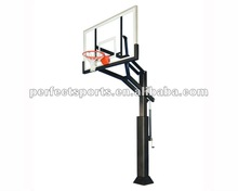 Arena View Basketball System 72 in. Glass Backboard