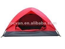 2 Men Camping Explore Tent