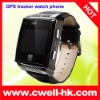 SOS dialing GSM GPS cellphone watch