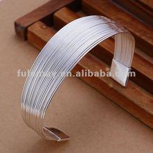 2012 Newest Fashion Cheap Silver Cuff Bracelet B023