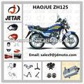 motocicleta piezas de repuesto para haojue zh125