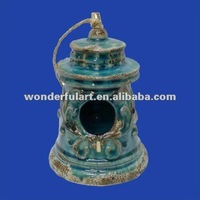 2014 new selling stoneware bird nest
