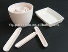 High Purified 99-99.7% Ceramic Alumina Smelting Crucibles For Jewelry