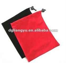 Fashionable velvet gift bags