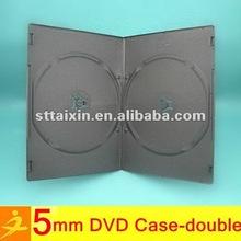 plastic pp slim dvd box 5mm/7mm/14mm