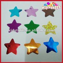 Shinny Colourful Star Shaped Metallic Foil Confetti With 3 cm in Diameter