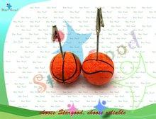 basketball shape holder clip memo clip