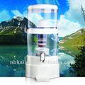 Purificador de agua sin electricidad/micro filtro poroso de cerámica/uso familiar filtro purificador de agua km1137