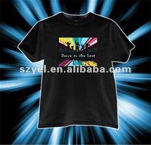 Popular Festival el sound actived pannel t-shirt ( More than 1200 designs)